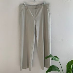 cAbi Wide Leg Khaki Trouser Pants 16